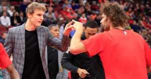 Lauri Markkasen Chicago Bulls -joukkuekaverit nokkapokkasilla – valmentaja ymmärtäväisenä