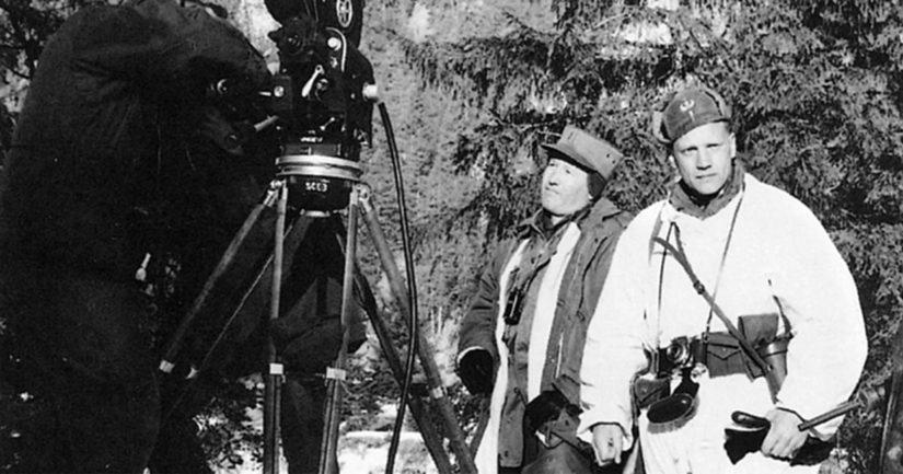 Helmikuussa 1959 Yhdysvaltain erikoisjoukot kuvasivat Alpeilla koulutustaan esittelevän filmin, jossa pääroolissa esiintyi Lauri Törni.