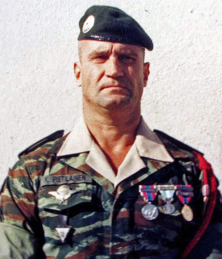 Kyösti Pietiläinen alias legioonalainen Peters on tiettävästi pisimpään Ranskan muukalaislegioonassa palvellut suomalainen.