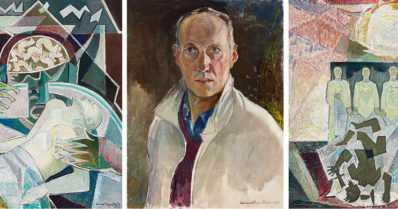 Hyvän ja pahan vastakkainasettelu näkyy Lennart Segerstrålen maalauksissa