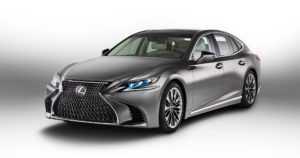 Lexus LS muutti rajusti tyyliään