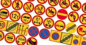 Suomessa otetaan käyttöön 50 uutta liikennemerkkiä – keltaiset sulkuviivat muuttuvat valkoisiksi