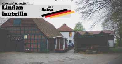 Sauna kuumana saksalaisen kerrostalon pihassa – lauteilla kansainvälinen edustus