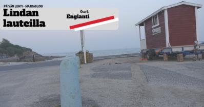 Sauna perille Englantiin – voitonlöylyt surffirannikolla