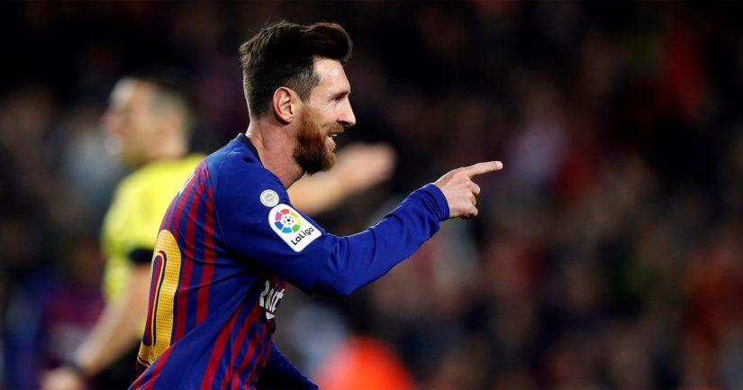 FC Barcelonaa edustava Lionel Messi on yksi maailman lahjakkaimmista pelaajista.