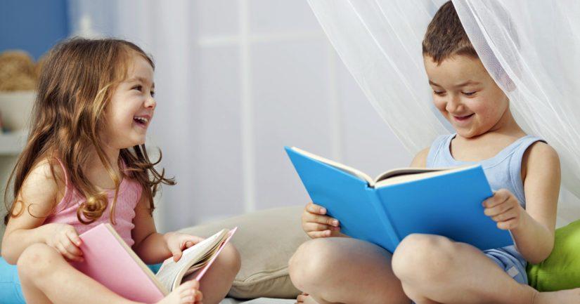 Lukeminen vaikuttaa lapsen puheenkehitykseen, sanavaraston kehittymiseen ja keskittymiseen.