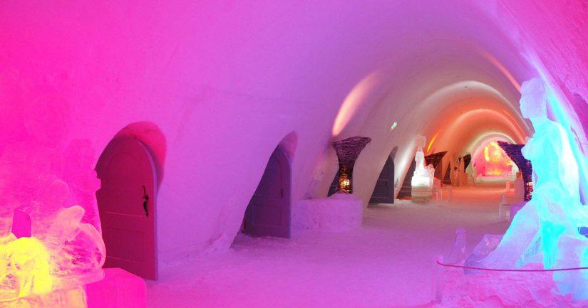 Suuri lumilinna on ollut Kemissä suosittu matkailukohde, nyt onnettomuus tapahtui Levin lähellä.
