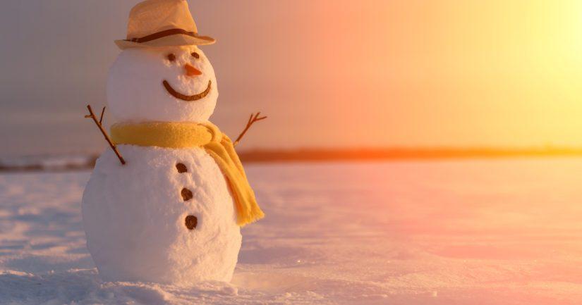 Kevätkuukausina lumipeitteen oheneminen liittyi lähinnä lämpötilan nousuun.