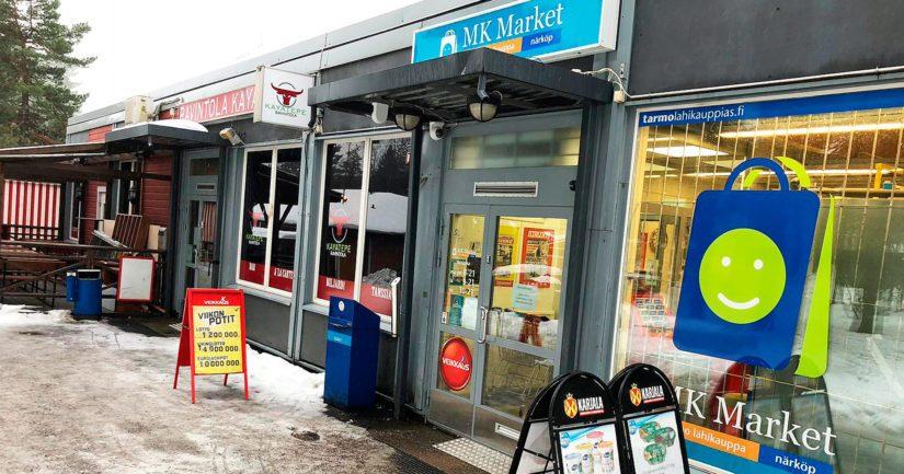 Lottovoittaja teki rivinsä Lohjalla Routionmäen Tarmo Lähikauppa MK Marketissa.