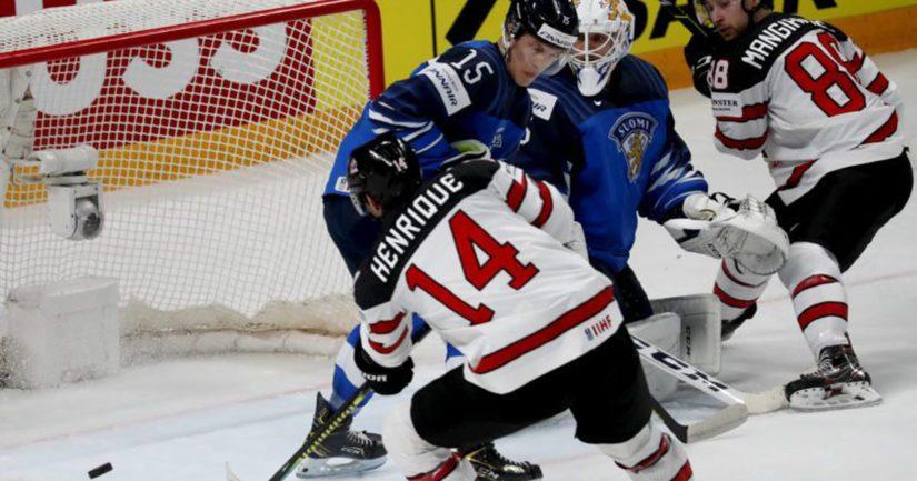 Kanada voitti Suomen jääkiekon 2021 MM-finaalissa jatkoajalla maalein 3-2.