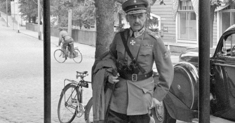 Loppukesällä 1921 Mannerheim mieltyi kalastusmatkalla Asikkalassa maistamaansa isoon keltakuoriseen omenaan.