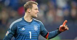 Bayern Münchenin tähtivahti Manuel Neuer –