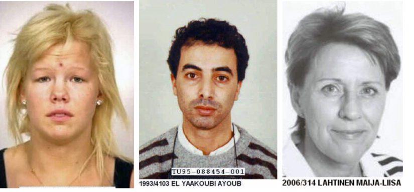 Interpol kaipaa myös Marina Kettusta, Ayoub El Yaakoubia sekä Maija-Liisa Lahtista.