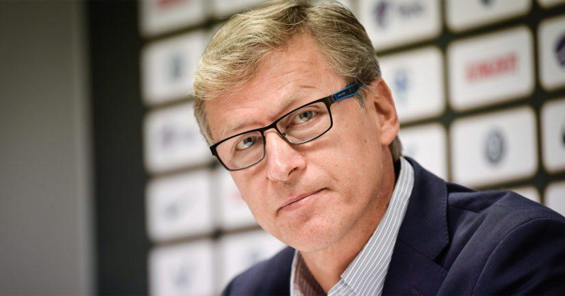 Suomen päävalmentaja Markku Kanerva kiitteli joukkuetta pelin jälkeen.