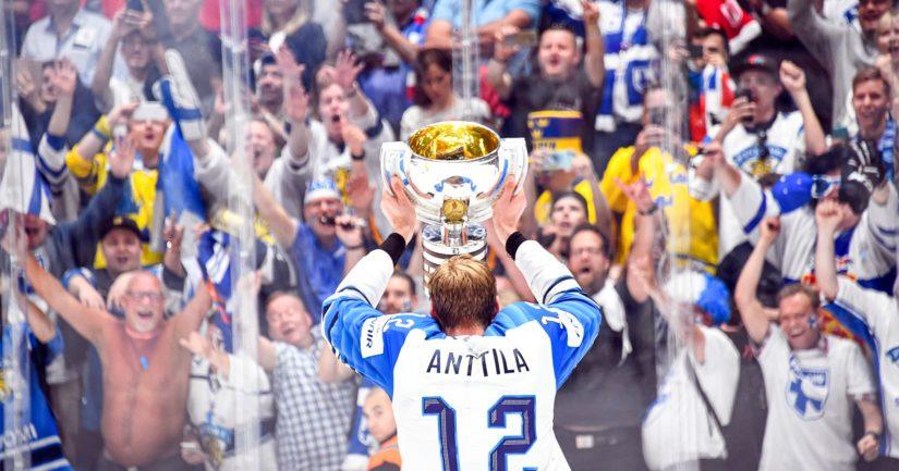 Suomi on miesten jääkiekon hallitseva maailmanmestari