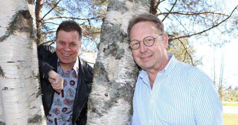 """Markku Juhani """"Mato"""" Valtonen, 64, tunnetaan yhtenä Sleepy Sleepersin johtohahmona, Tom Pöysti, 65, jatkoi näyttelijäperheen poikana vanhempiensa ammatissa."""