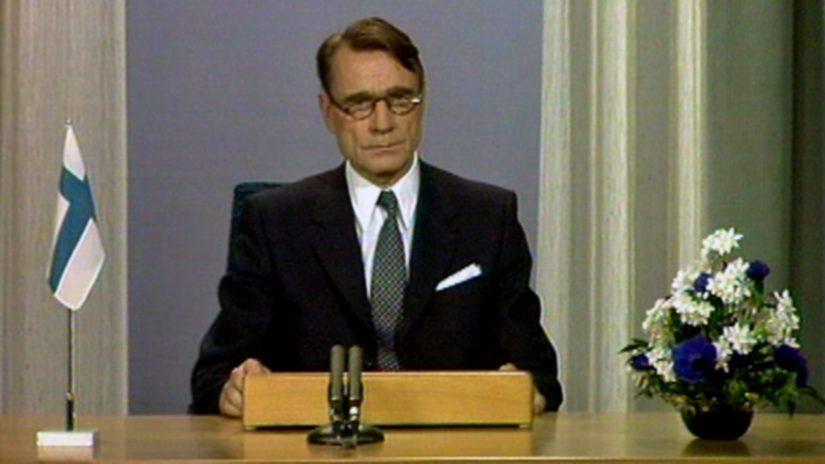 Mauno Koivistosta tuli Urho Kekkosen jälkeen Suomen yhdeksäs presidentti.