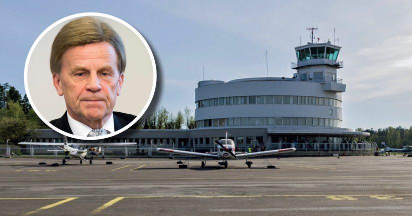 Eduskunnan ensimmäinen varapuhemies ei halunnut päästää kansalaisaloitetta Malmin lentokentästä edes äänestykseen.
