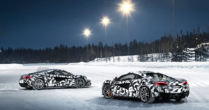 McLareneita voi kohta ajaa Suomen talvessa