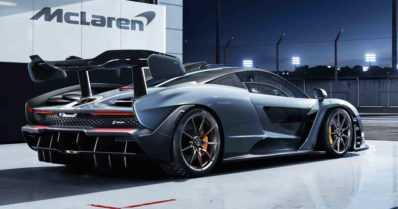 Formulalegendan mukaan nimetty McLaren Senna tuo rata-autoteknologiaa kadulle
