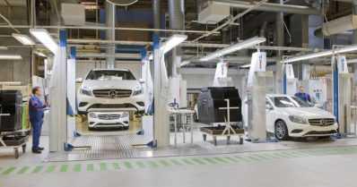 Hyviä uutisia – Uusikaupunki valmistaa Mercedes-Benzin seuraavan sukupolven kompaktimallia
