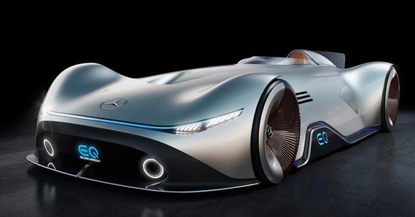 Konsepti on saanut inspiraationsa Mersun 1930-luvun maineikkaasta ennätysautosta.