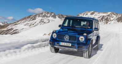 Mersun maasturi-ikonia saa jälleen dieselinä – uusi G 350 d tulee myyntiin tammikuussa