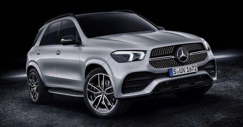 Uusi GLE esitellään lokakuussa Pariisin autonäyttelyssä.