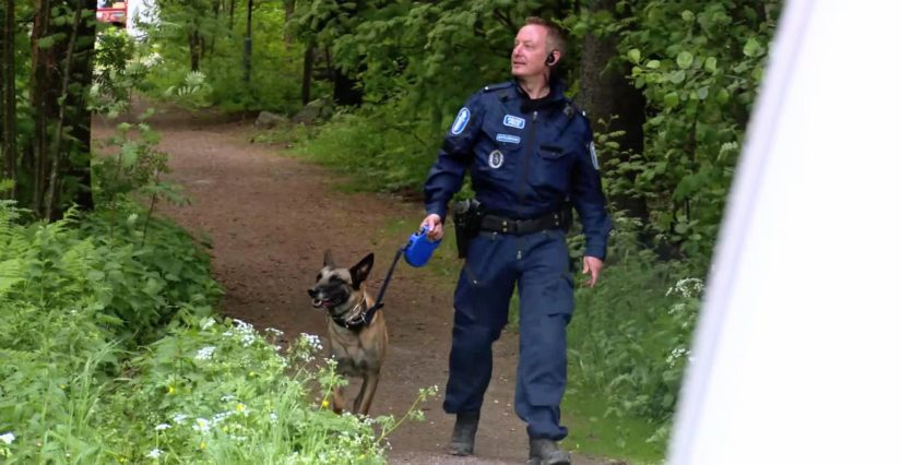 Mikko Rytkönen ja Sauli ovat esiintyneet myös Nelosen Poliisit-sarjassa.
