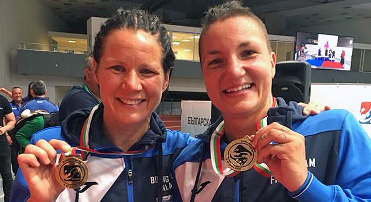 Sekä Mira Potkonen että Elina Gustafsson tähtäävät Tokion vuoden 2020 olympialaisiin.