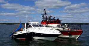 Poliisilta lisätietoa Airiston veneonnettomuuteen – isompi vene tuli takaviistosta noin 25 solmun matkavauhtia