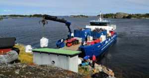 Saaristosta siivottiin jälleen runsaasti romua – jätettä kertyi matkan varrelta reilut 41 tonnia