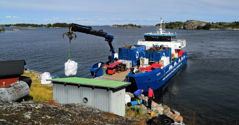 Vuosittaisella keräyksellä on suuri merkitys sekä saariston asukkaille että ympäristölle.