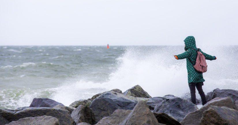 Myrsky on vuodenaikaan nähden poikkeuksellisen voimakas.