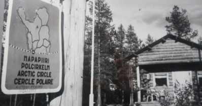 Kun USA:n presidentin leski tuli Napapiirille – maja tehtiin viikossa Ounasjoen uiton hirsistä