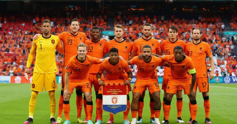 Hollanti varmisti jatkopaikkansa EM-kisoissa jo kahden ottelun jälkeen (Kuva Christopher Lee / UEFA)