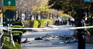 New Yorkissa kuolonuhreja vaatinut terrori-isku – mies ajoi lava-autolla ihmisten päälle