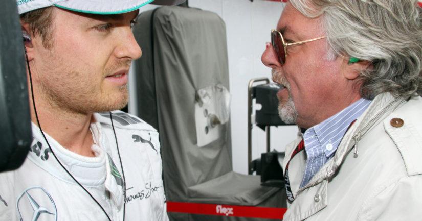 Keke Rosberg jännitti kotona ruudun ääressä, kun poika Nico ajoi F1-mestariksi.