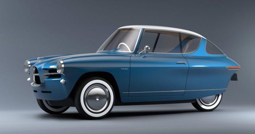 Nobe 100 on kuin 1950-luvun kääpiöautojen uudelleensyntymä.