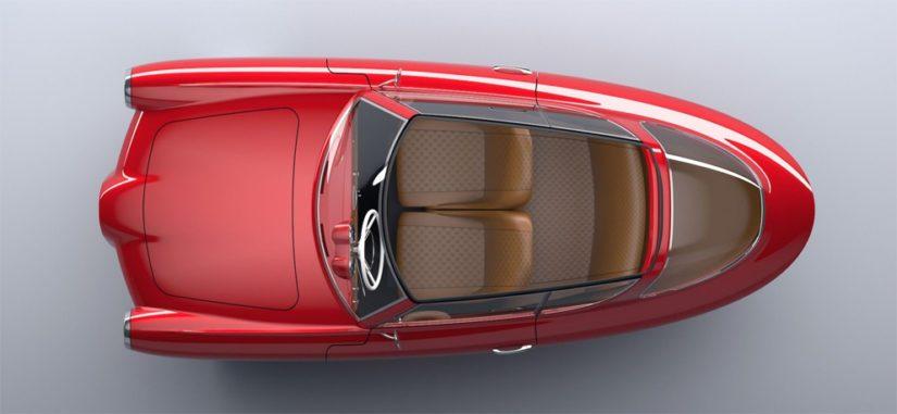 Auton pitäisi tarjota tilat kolmelle matkustajalle ja heidän tavaroilleen.