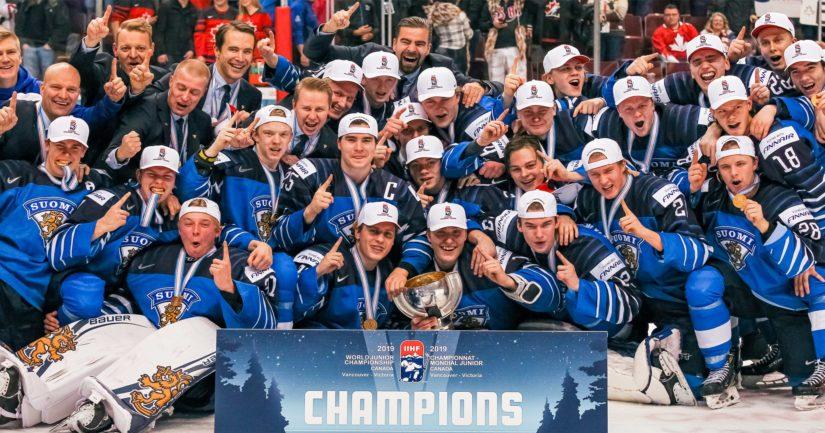 Nuorten Leijonien 2019 kultajoukkueen pelaajista komeaa NHL-uraa povataan muun muassa Eeli Tolvaselle, Henri Jokiharjulle, Kaapo Kakolle ja Ville Heinolalle.