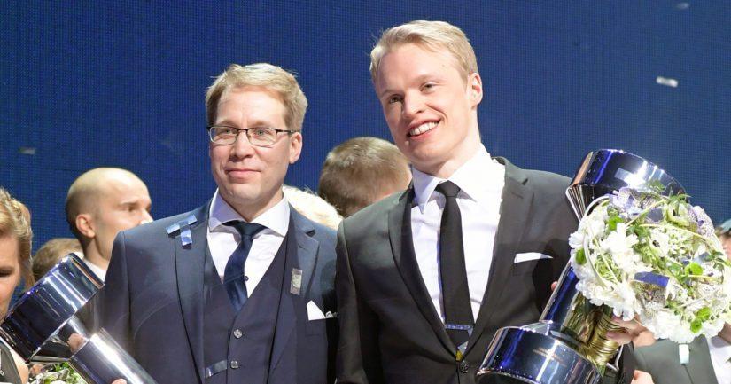 Urheilugaalassa 2018 Olli Ohtonen palkittiin Vuoden valmentajana ja Iivo Niskanen Vuoden urheilijana.