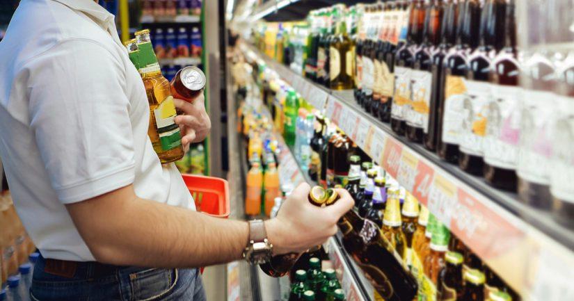 Vahvemman oluen myynti kasvoi, mutta miedomman oluen myynti puolestaan laski.