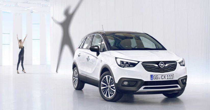 Tässä on Opelin tulokas suosittujen crossovereiden luokkaan