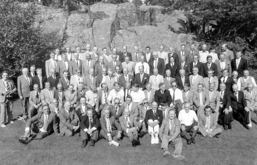 Vuonna 1984 Koivisto kutsui kaikki Osasto Törnin jääkäriveljensä vieraaksi Kultarantaan.