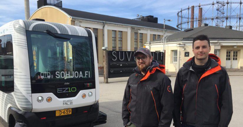Robottibussit valtaavat uusia alueita – Helsingissä keväällä ennätysmäärä robottibussiliikennettä