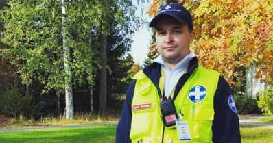 """Vuoden vapaaehtoinen pelastaja valittiin – """"Tuntuu hyvältä, että olen pystynyt auttamaan"""""""
