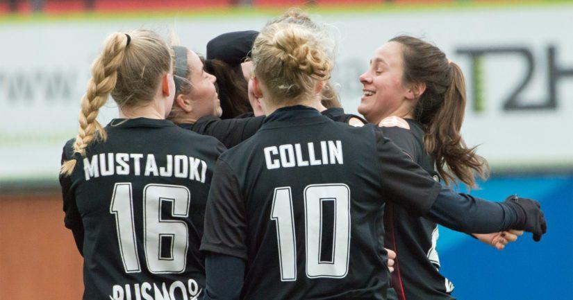 PK-35 Vantaa on edennyt naisten Mestarien Liigan karsinnassa jatkoon jo neljästi.
