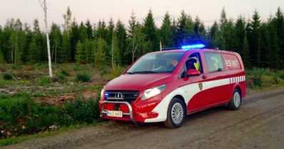 Paloasemalta anastettiin miehistönkuljetusauto – havainnot pyydetään ilmoittamaan hätäkeskukseen
