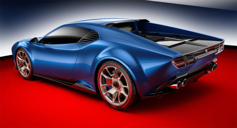 Project Pantherissa käytetään myös samaa hiilikuitua ja alumiinia yhdistelevää alustarakennetta kuin Lamborghinissa.